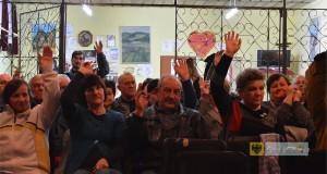 Zebranie wiejskie w Unikowicach