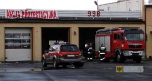 Remiza straży pożarnej w Paczkowie
