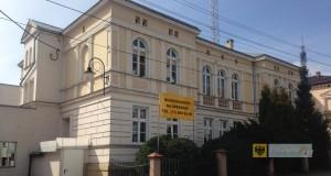 Budynek zlikwidowanego rejonu energetycznego w Paczkowie