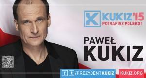 Paweł Kukiz najlepszy w Paczkowie. Foto: materiały wyborcze KW Pawła Kukiza