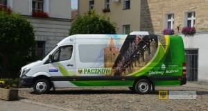 Nowy mercedes sprinter zakupiony przez Gminę Paczków. Foto: UM Paczków