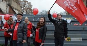 Grupa wolontariuszy ubiegłorocznej edycji Szlachetnej Paczki