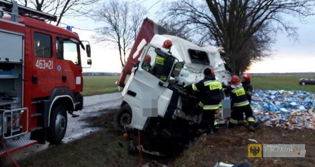 Kolejny śmiertelny wypadek na drodze krajowej nr 46 pod Starym Paczkowem