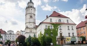 """""""Ratusz w Paczkowie. Foto Barbara Maliszewska"""" by Barbara Maliszewska - Own work. Licensed under CC BY-SA 3.0 pl via Wikimedia Commons."""