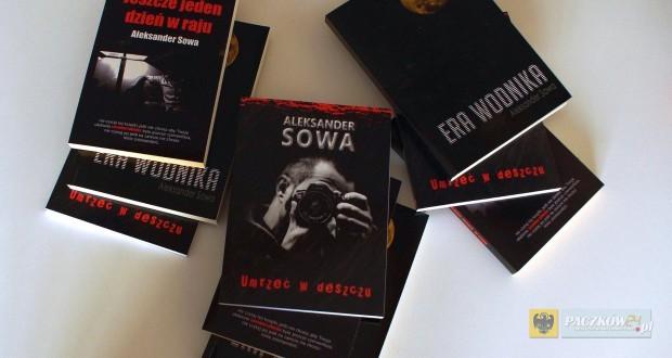 Wygraj jeden z trzech zestawów książek Aleksandra Sowy