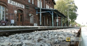 Stacja kolejowa w Paczkowie