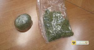Marihuana znaleziona w mieszkaniu 27-latka. Foto: KPP Nysa