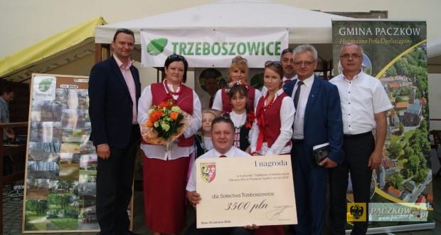 Trzeboszowice nagrodzone podczas Dni Powiatu Nyskiego