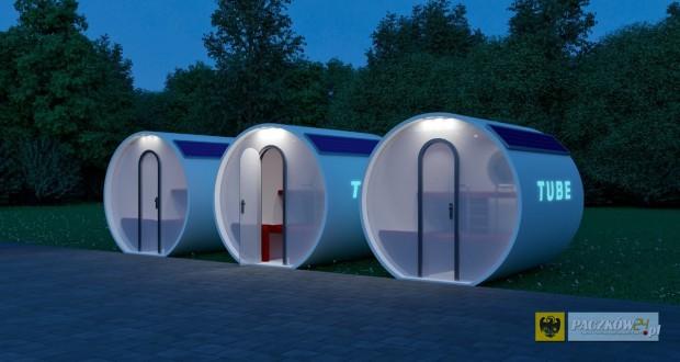 Projekt TUBE autorstwa Wojciecha Lipińskiego i Bartosza Poloka