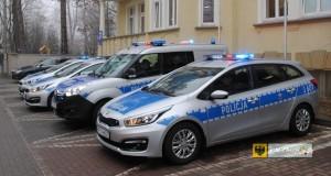 Nowe samochody trafiły do policji z powiatu nyskiego. Foto: KPP Nysa