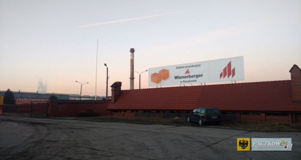 Cegielnia firmy Wienerberger w Paczkowie