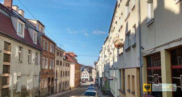 Ulica Wojska Polskiego w Paczkowie
