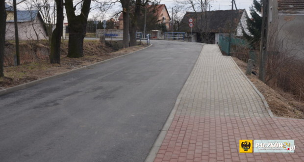 Droga w Ujeźdźcu oddana do użytku. Foto: UM Paczków