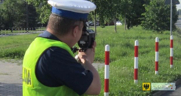 """Akcja """"Prędkość"""". Foto: KPP Nysa"""